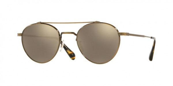 Oliver Peoples Watts Sun OV1223ST 51246g Antique Gold